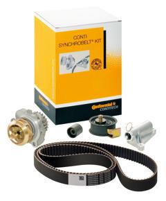 ContiTech Timing belt kit + water pump
