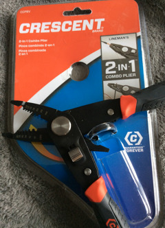 2In1 Combo Plier. Wire Stripper/Lineman