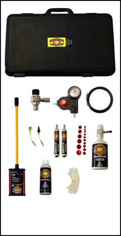 Bullseye Leak Detector