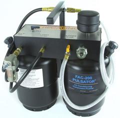FAC-200 Pulsator Portable A/C Flusher