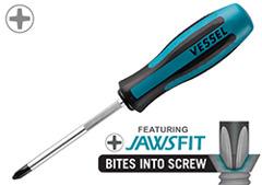 900JF Series Megadora Jawsfit Screwdriver