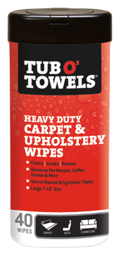 Carpet & Upholstery Wipes